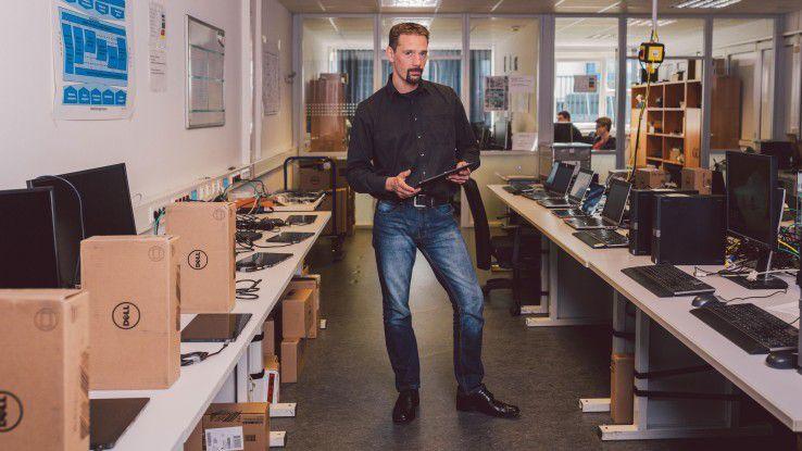 """""""Was man per Klick hinbekommt, kriegt man auch automatisiert hin"""", ist Sven Hammer, IT-Systemberater bei mod IT Services, überzeugt."""